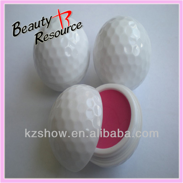 2014 Latest Deluxe White Ball Shape Lip Balm
