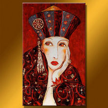 Newest Handmade Woman Figure Oil Painting For Decoration Home