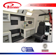 Toyota hiace left hand drive ambulance interior
