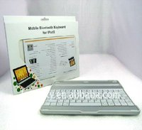 For ipad 2 Aluminium case 2.0 Bluetooth wireless keyboard