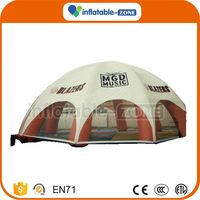 Fast shipping inflatable dome tent for pool inflatable lawn tent for sale
