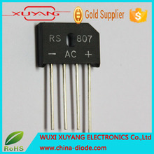 High Voltage rectifier diode RS804 400V 8Amp bridge series