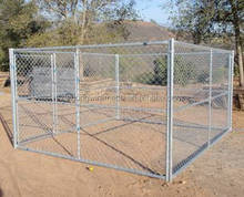 Factory Price Outdoor Hot dipped galvanized Boxed chain link Dog Kennels