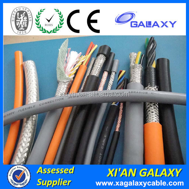 Multi Core Screen shield PVC Electric Wire 300/300V&300/500V Moisture Resistant Strand Annealed Copper Core RVVP Electric Wire
