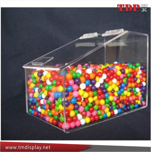bulk mini custom 1 Gallon acrylic stackable bins acrylic stackable candy bin clear acrylic stackable candy bins with hinged lid