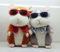 2013 New Arrival Electric Talking Recording Toy DJ Cool Hamster