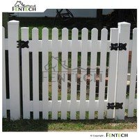Fentech High Quality New Design Popular Style Plastic Garden Fence Panels, Cheap Fence Panels