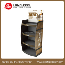 Christmas promotional coffee cardboard display