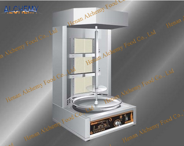 Electric doner kebab machine