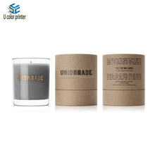 candle paper tube packaging round boxes