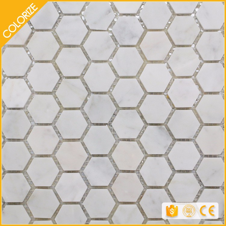 Customized High Quality Hexagon Stone Mosaic Tile