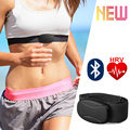 Wireless HRV Monitor Bluetooth 4.0 Heart Rate Sensor Chest Strap