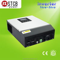 Home solar system dc to ac inverter 3kva for solar panel
