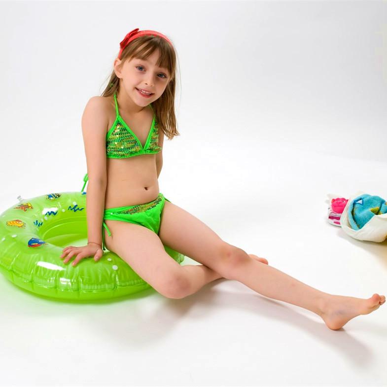 Get Quotations  C2 B7 2015 New Childrens Girls Swimwear Cute Bikini Swimsuit For Girls Kids Swimsuit Sequins Lovely Biquini Infantil