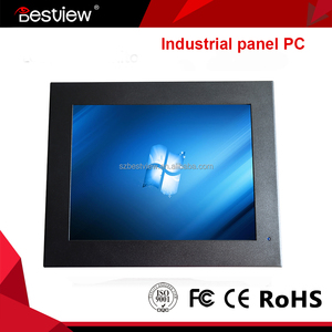 10 inch all in one computer industrial panel pc fanless mini pc 12V