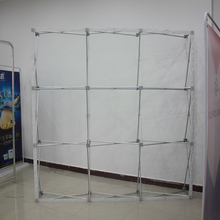 2017 production produce folding display tables tension fabric photo booth backdrop