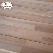Paulownia AA AB Grade Edge Glued Finger Joint Wood Board From China Factory