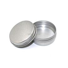 High quality beautiful small round aluminum tin