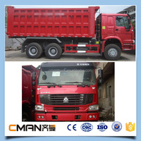 China 10wheeler stone transport euro2 35tons howa trucks