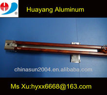 Wooden aluminum curtain track and accessories