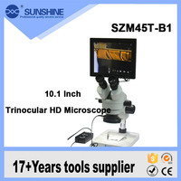 SUNSHINE hot sale 10.1 inch VGA digital display electronic repair microscope for sale