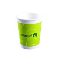 12oz PLA coating paper cups,biodegradable tea coffee paper cup,disposable cups