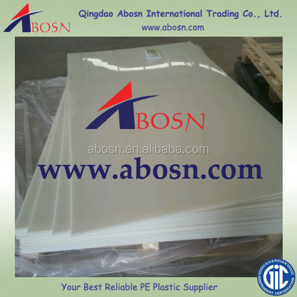 Antistatic UHMWPE&HDPE sheet/PE1000 polyethylene custom made sheet/board/part with strong impact resistance/customized synthetic