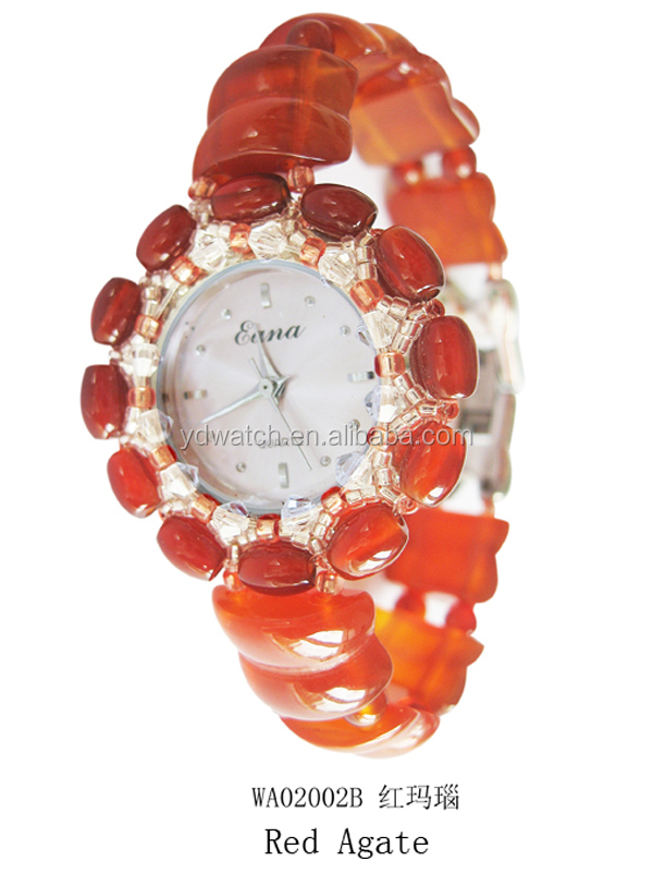 Discount!Japan Quartz Movt Bracelet Delicate Ladies pearl wrist watch