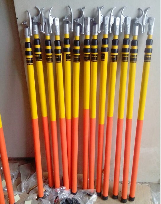 high voltage telescopic hot stick