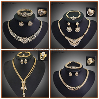 LuxuriousS Classic Egypt Jewelry 4 Suits, Dubai Gold Plated Jewelry SetS For Bridal