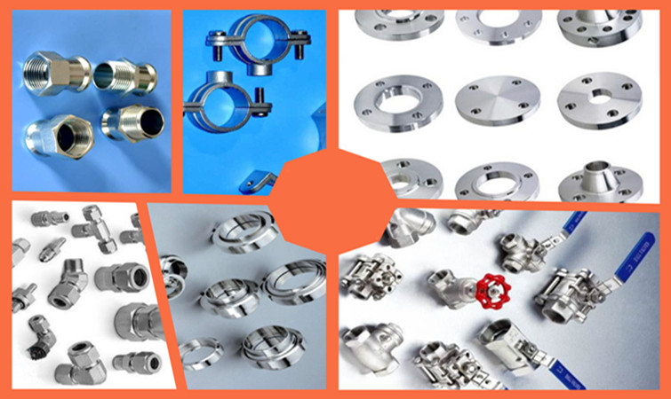 customized stainless steel male female elbow nipple coupling pipe fitting