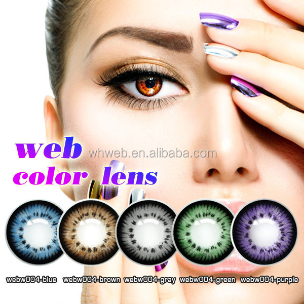 wholesale Hot-Selling Christmas ColorBlends Contact Lenses Big Size Soft tri 3 tone Color Contact Lens