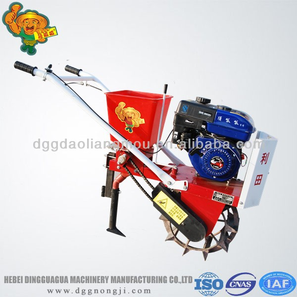 multi-function hand farm cultivator cheap garden tractor for sale