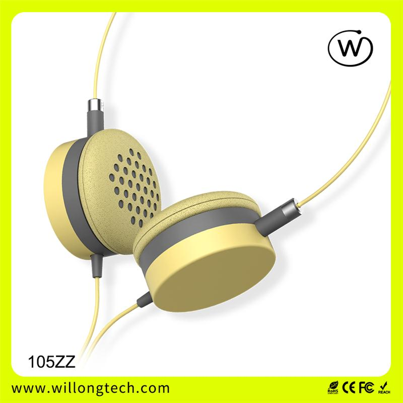 Best seller mix-style earphone headphone for computer mp3 headset with wholesaler