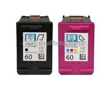 Black 60B for HP Empty ink cartridge