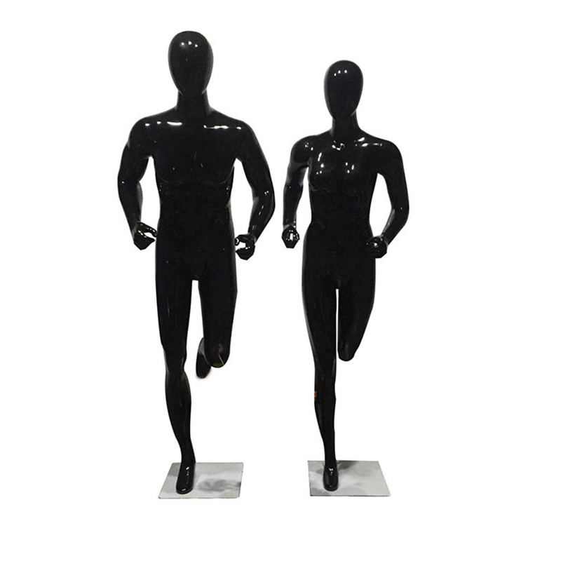 Xinji fashion fiberglass female man sport mannequin for sale