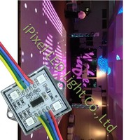 20pcs/lot square rgb led pixels module with ws2801 ic addressable