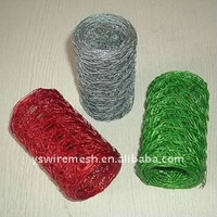 pvc coated color hexagonal mesh/galvanized steel poultry wire netting/electro galvanized hexagonal mesh