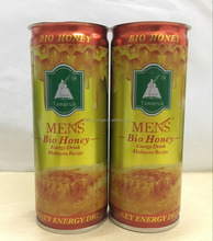 250ml Tinned CAN Forever Young Malaysia Recipe MENS' Bio Honey Energy Drink