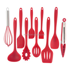 Factory directly offer silicone kitchen utensil set good price