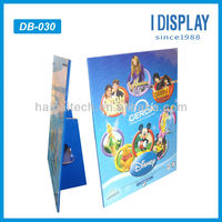 attractive paper advertising standee for kids playground news advertising