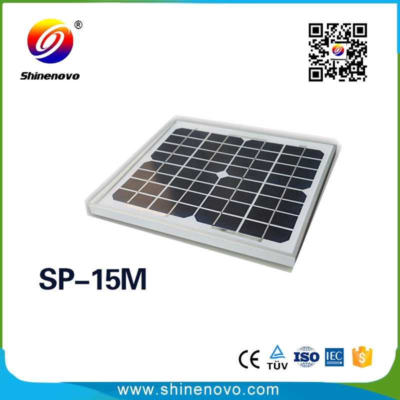made in China 15 watt off grid solar modules