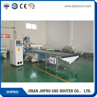 Best home made in China JHPRO 1300*2500MM ATC 3 axis wood cnc router machine plans