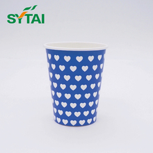 New product 2017 singel wall paper cup of China National Standard