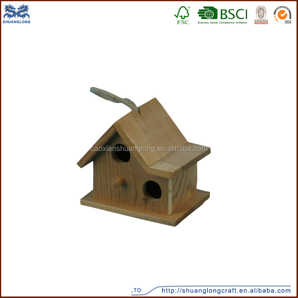 High quality wooden bird nest/animals cages