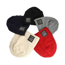 Factory Hot Sell Fashion Custom Plain Beanie Hat Warm Winter Cap