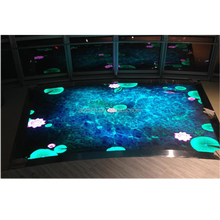 Indoor stage/ stadium/basketball LED video floor display screen P6.25 P8.928 P10 P16