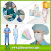 Sms non-woven fabric medical used,disposable surgical gown/face mask sms sterile,sms nonwoven
