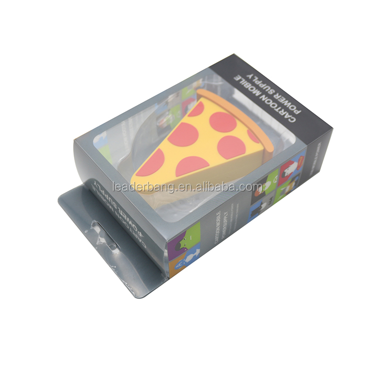 Gadgets 2018 technologies pizza power banks 2600mah with free sample