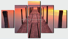 5 panel stretched canvas wall art,wall canvas paintings for decor